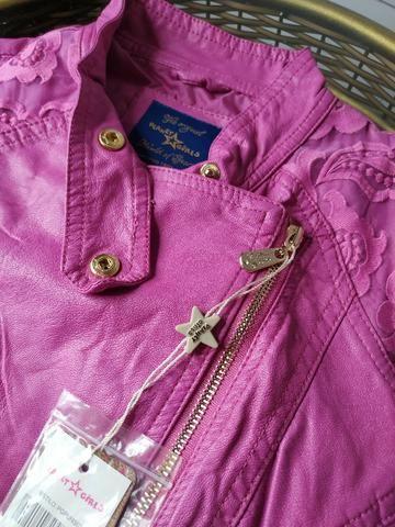 Jaqueta Planet Girl Pink Bordada