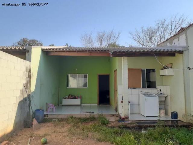 Casa para venda em várzea grande, costa verde, 2 dormitórios, 2 banheiros, 2 vagas - Foto 10