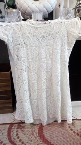 Vestido novo renda Guipir - Foto 3