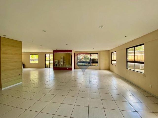 Apartamento com 2 dormitórios à venda, 59 m² por r$ 190.000 - pitimbu - natal/rn sun garde - Foto 12