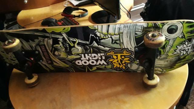 Vendo skate montado - Foto 4