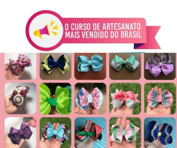 Fábrica de Laços e Tiaras - Curso Online - Foto 2