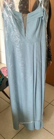 Vestido azul - paleta candy colors e tons pastéis - Foto 2