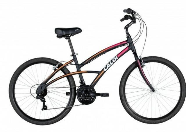 Bicicleta Caloi 300 - Aro 26 Feminina - Shimano 21 Marchas - Foto 2