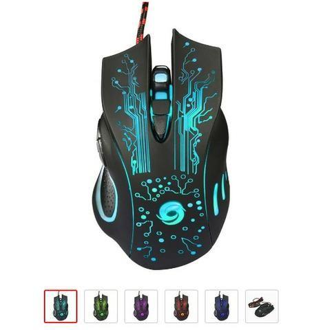 Mouse Gamer Altomex Usb Notebook Pc 4 Velocidade De Dpi