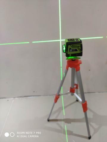 Nivelador a lazer 8 linhas controle remoto - Foto 4