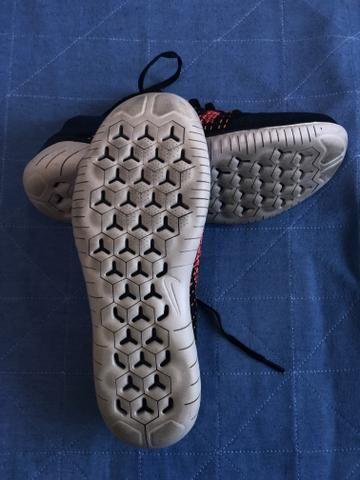 Tênis Corrida Nike Free Flyknit 2018 - Foto 2