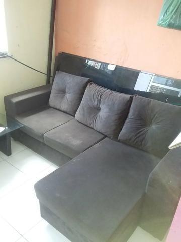 Sofa estado de novo pouco usado