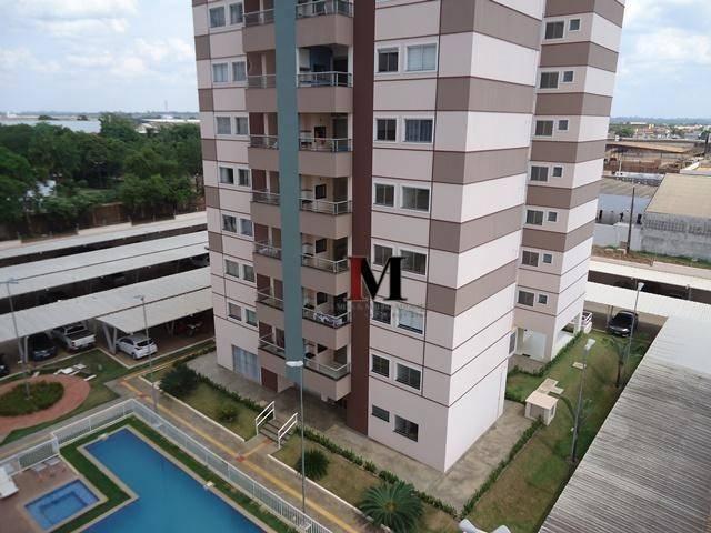 vendemos apartamento mobiliado com 2 quartos no Res Torre de Italia - Foto 4