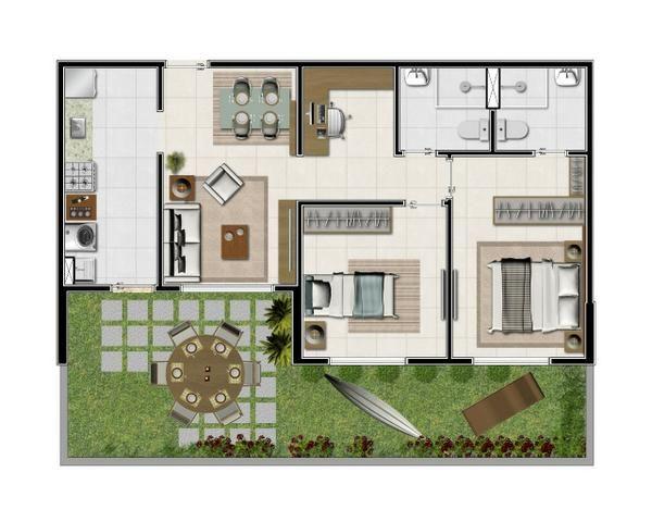 Apartamento em Ponta Negra - Vista para o Mar - 84.99689.2882 -Não visualizo chat - Foto 7