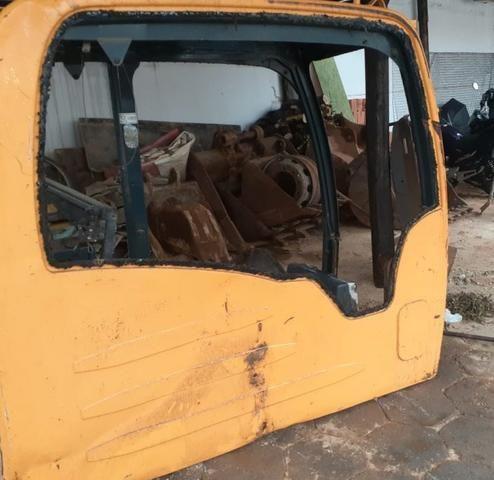 Cabine Escavadeira hidráulica Hyundai R 140