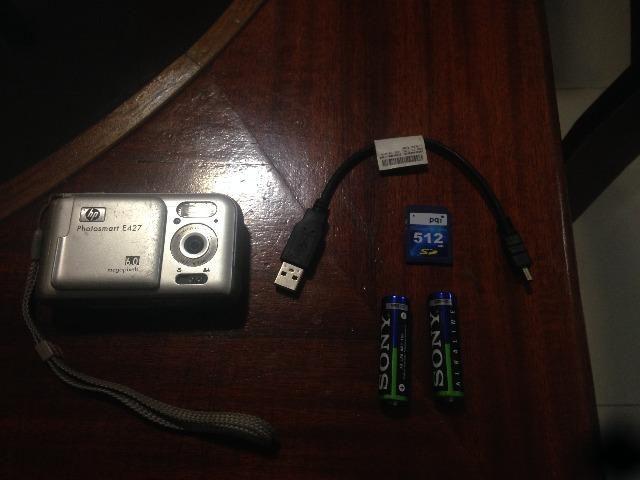 Câmera Digital HP Photosmart E427 - Semi-Novo ? Oportunidade Única - Foto 2