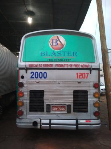 Vendo ou troco ônibus dinossauro cma cometa 95/96 pego caminhonete carro - Foto 9