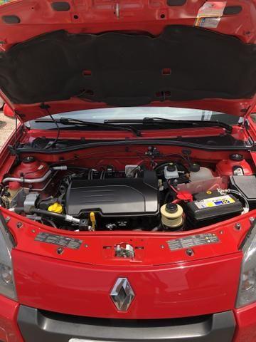 Renault Sandero EXP 1.0 completo ano 2014 - Foto 6