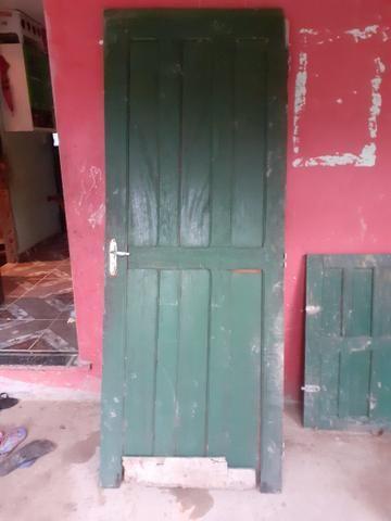 1 porta e 2 janelas usadas em bom estado + 1 de brind - Foto 4