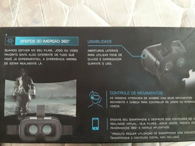 Vendo óculos 3D Realidade virtual - Foto 5