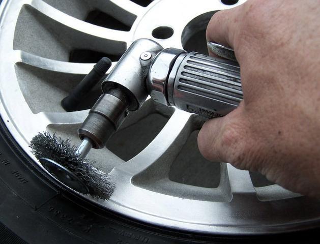 Serviço de reforma de rodas, solda, alinhamento e balanceamento de rodas, cons blindado - Foto 5