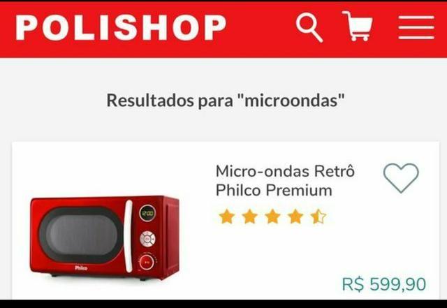 2e48ccaf9 Microondas Philco vermelho Novo no Lacre - Eletrodomésticos - Lauro ...