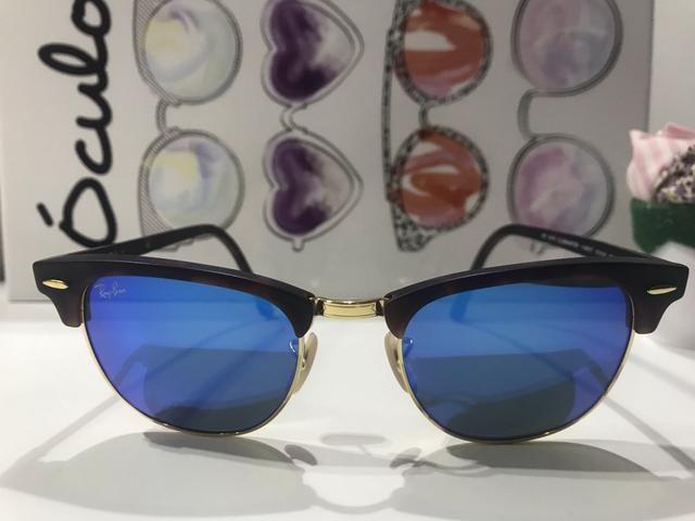 9877563d4 Óculos de sol Ray Ban Clubmaster Original espelhado - Bijouterias ...