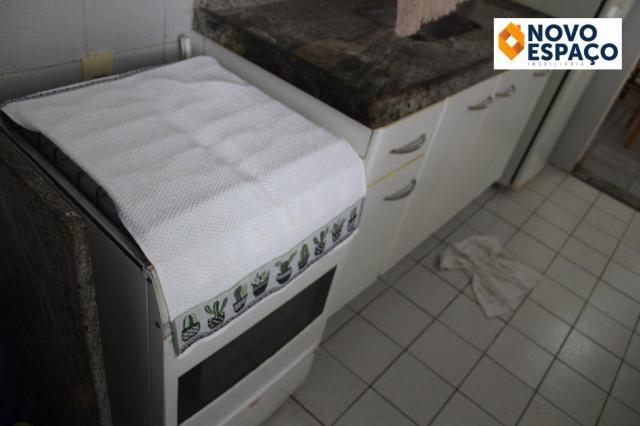 Apartamento com 1 dormitório para alugar, 40 m² por R$ 600/mês - Centro - Campos dos Goyta - Foto 7