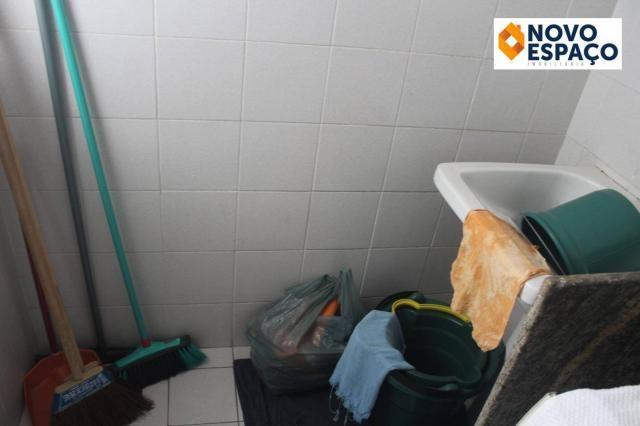 Apartamento com 1 dormitório para alugar, 40 m² por R$ 600/mês - Centro - Campos dos Goyta - Foto 10