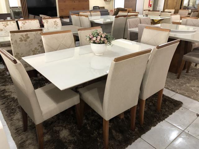 Mesa Sapucaí seis assentos nova completa - Foto 4