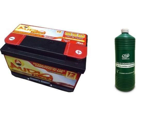 Promoção Bateria Audio Power 95ah/850ah Pico Som Automotivo ou Arranque