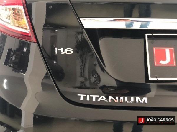 Ford Fiesta 1.6 ha titanium 2015 única dona - Foto 7