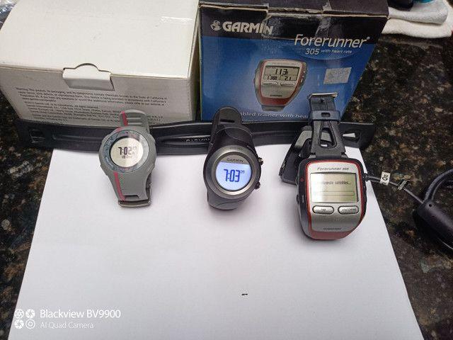Garmin 305 com cinta cardiaca - Foto 3