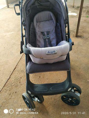 Carrinho de bebê, super conservado usado poucas vezes - Foto 4