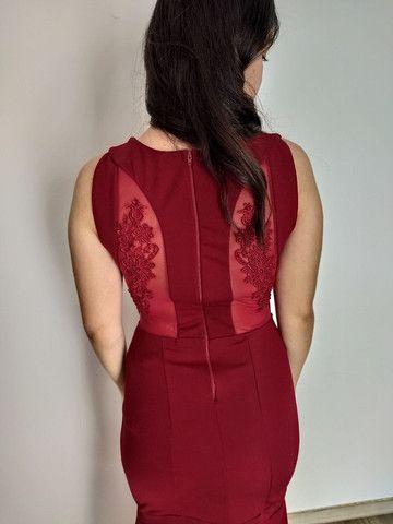 Vestido de festa marsala (36/38) - temos outros modelos disponíveis - Foto 4