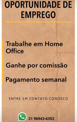 HOME OFICCE DE VENDAS ON-LINE