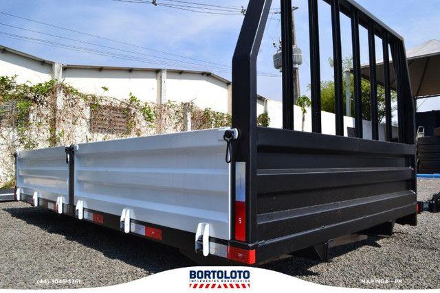 Carroceria Aberta Ferro Grade Baixa Rodosol Nova - Foto 2