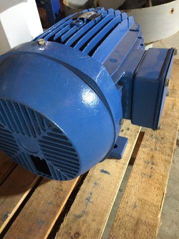 Motor elétrico trifásico 20 cv 3500 rpm - Foto 3