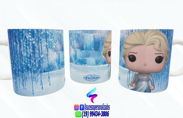 Canecas Colecionáveis Funko Pop Frozen - Foto 2