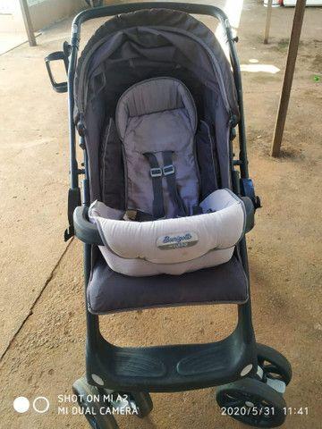 Carrinho de bebê, super conservado usado poucas vezes
