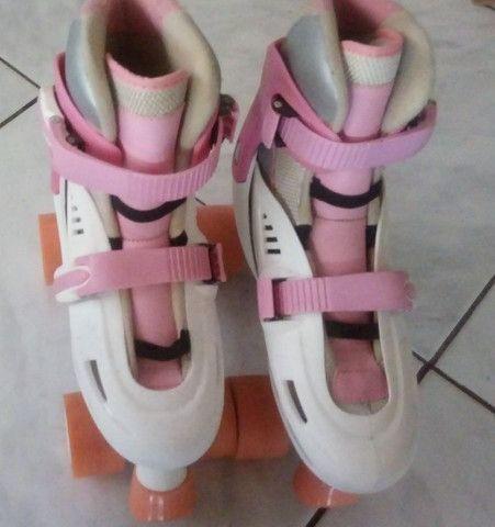 patins rosa lindo,  original , internacional