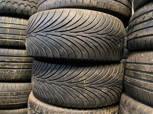 Pneus 225/55/16 semi novos valor de cada pneu  190.00