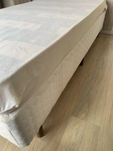 Cama solteiro com base e colchão  - Foto 3