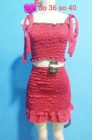 Lindos conjuntos e vestido lastex  - Foto 3