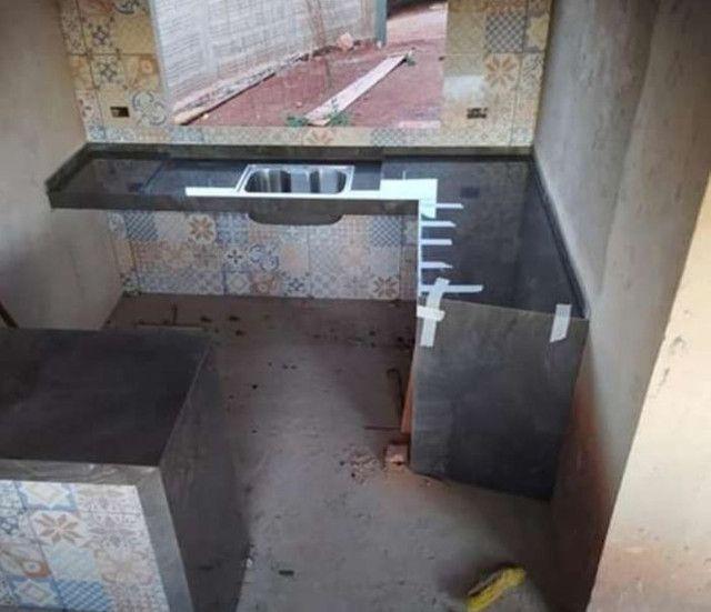 Bancadas em porcelanato construção e reformas em geral  - Foto 6