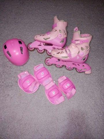 Vendo patins bem conservado, calçando do 34 ao 37.
