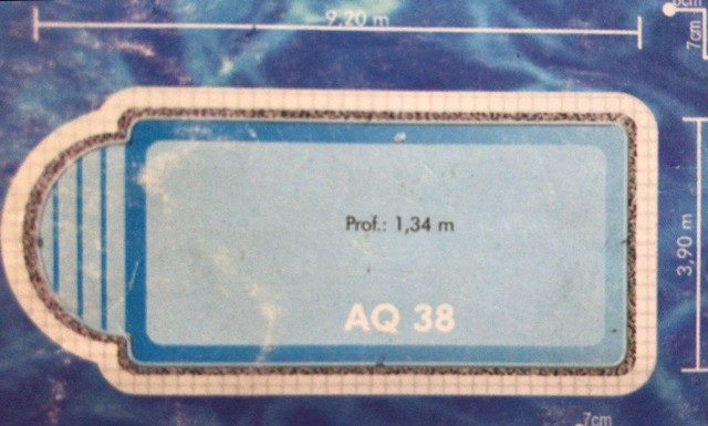 Piscina Fibra Modelo AQ38 - Foto 3