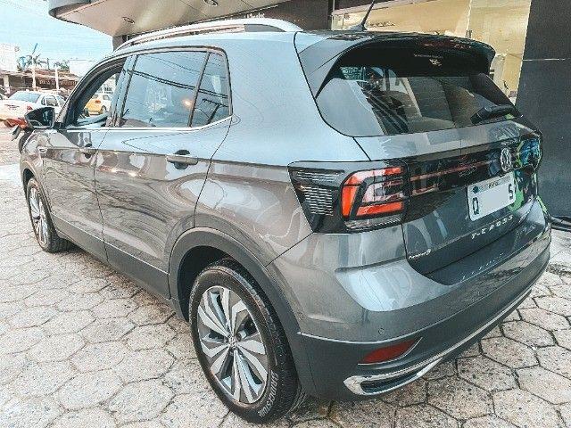 VW T-Cross (2020) Cinza - Versão TOP de Linha Highline com Parl Assist, Som Beats ! - Foto 5