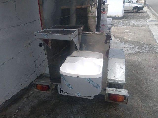 Vendo carrinho de chauarma,choripan churrasco grego. - Foto 4