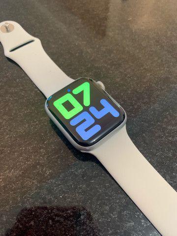 Apple Watch Series 4 Prata 44MM  - IMPECÁVEL  - Foto 2