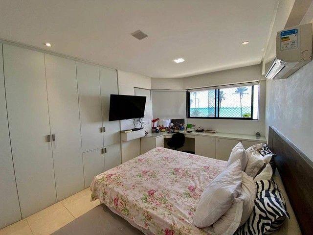 Apartamento para venda possui 200 metros quadrados com 3 suites mais dce.Ponta Verde - Mac - Foto 9