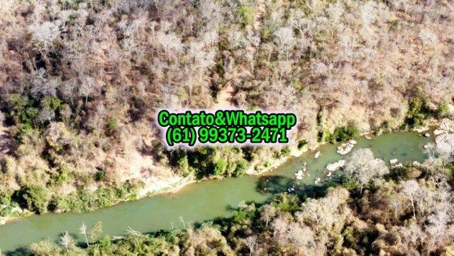 Chacara com Casa e fundo para o Rio Verde 25.000m2, 2 Quartos - Foto 3