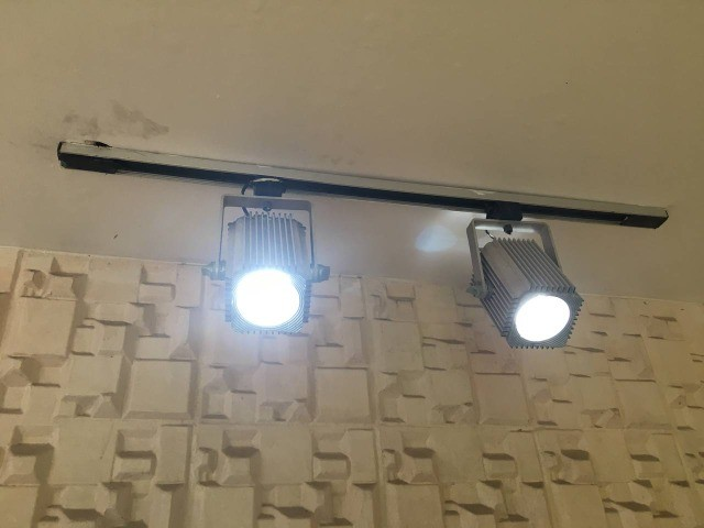 Luminária teto trilho