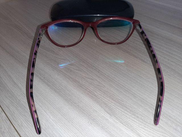 Armação de óculos de grau seminova - Foto 3